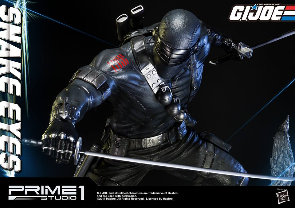 Prime 1 Studio G.I. Joe Snake Eyes & Timber Statue
