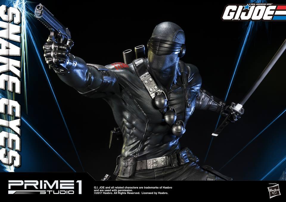Prime 1 Studio G.I. Joe Snake Eyes & Timber Statue Pre-Orders