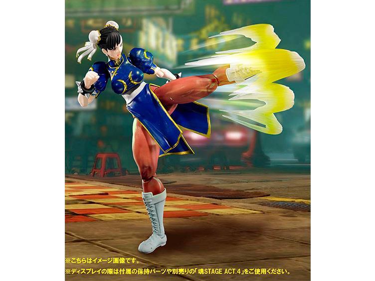 S.H. Figuarts Street Fighter V Chun Li & Ryu Figure Pre-Orders