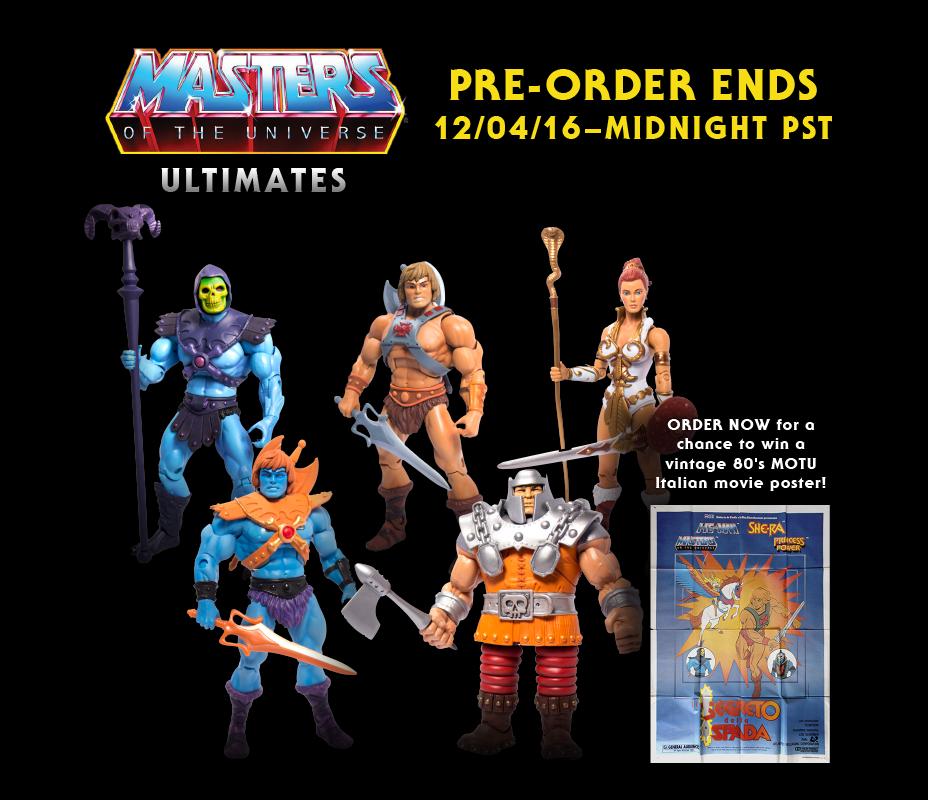 Super 7 Extends Masters Of The Universe Classics Pre-Sale & More