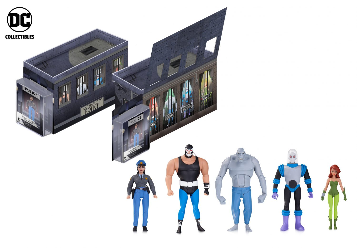 DC Collectibles Shipping Update: Batman: The Animated Series GCPD Rogues Gallery Figure 5-Pack