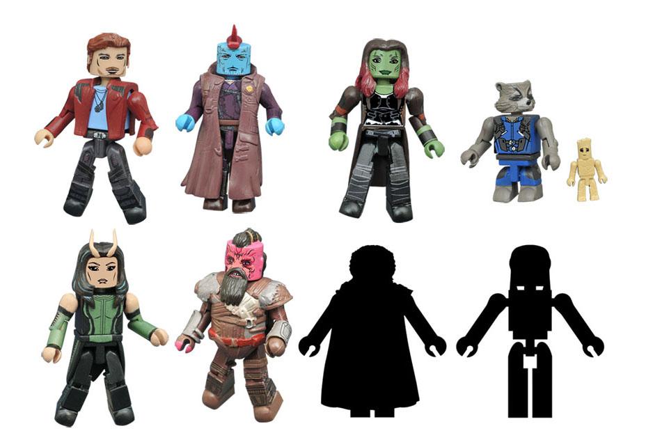Diamond Select Toys Guardians Of The Galaxy Vol. 2 Minimates