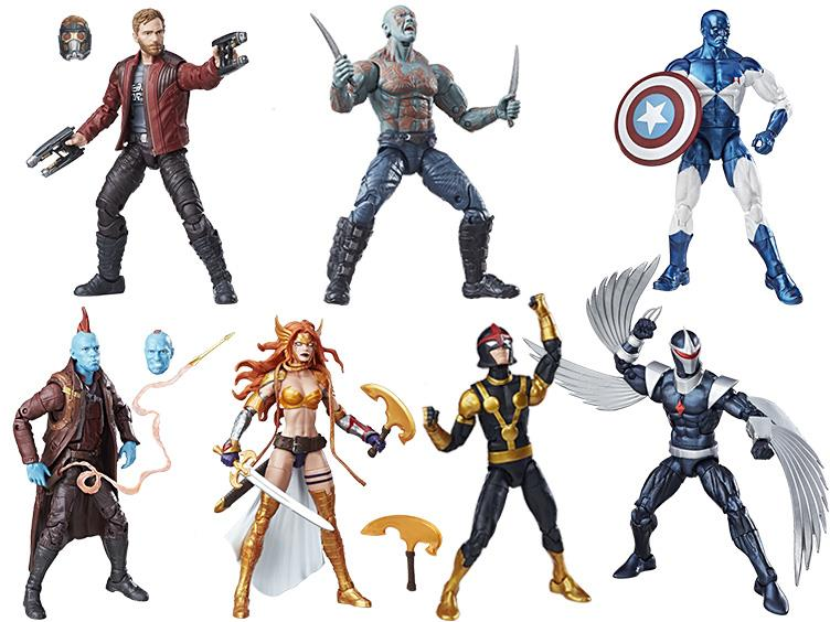 Guardians Of The Galaxy Marvel Legends Wave 1 Now $95 On Entertainment Earth