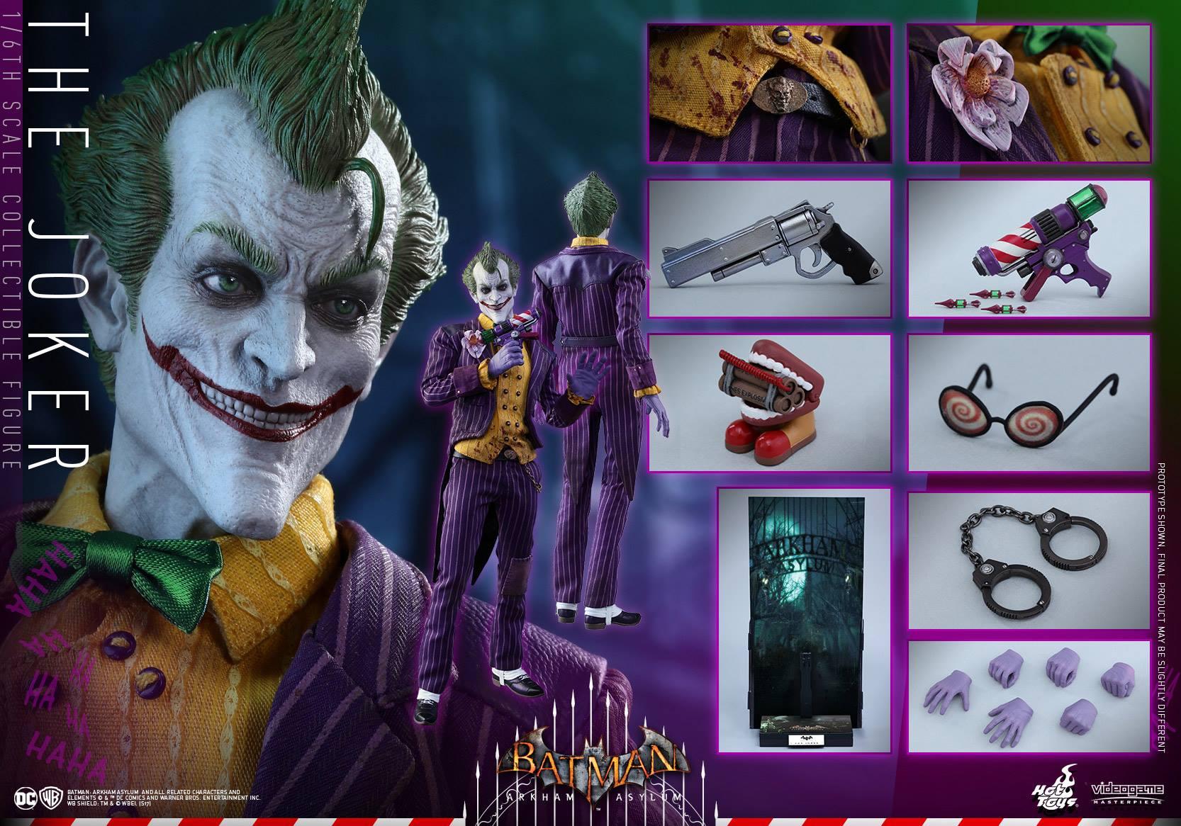 Hot Toys Batman: Arkham Asylum – The Joker Sixth Scale Figure Pre-Order