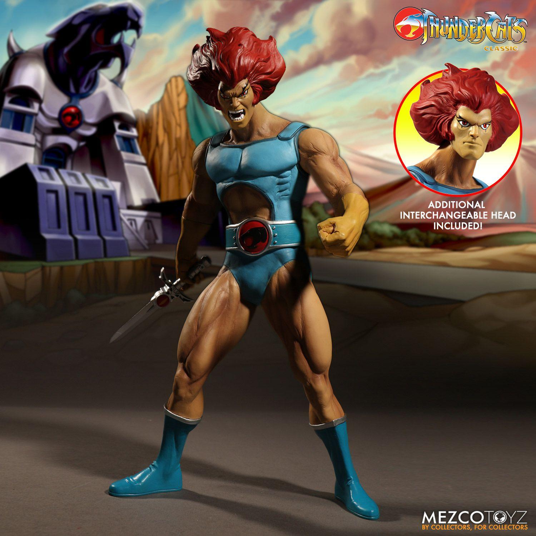 Mezco Toyz ThunderCats 14″ Mega Scale Thundercats Lion-O & Mumm-Ra Variants