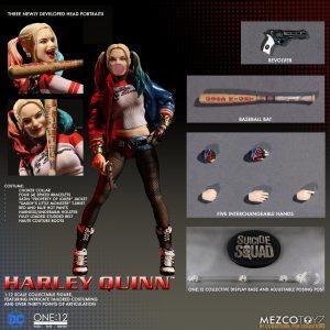 Mezco Toyz One12 Collective Suicide Squad Harley Quinn Figure 5