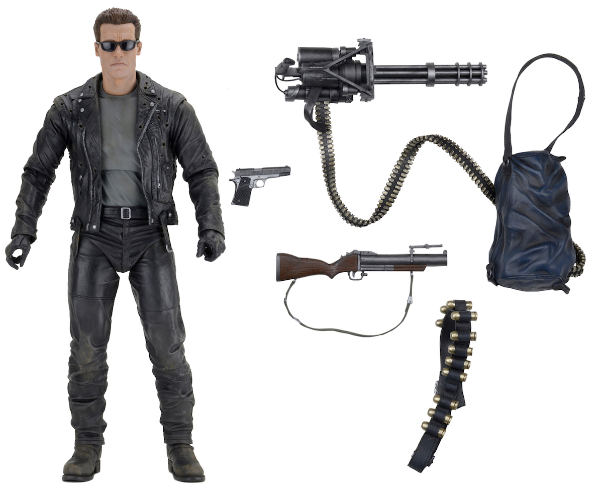 NECA Toys Shipping This Week: Terminator 2, Blade Runner 2049, Head Stands & More