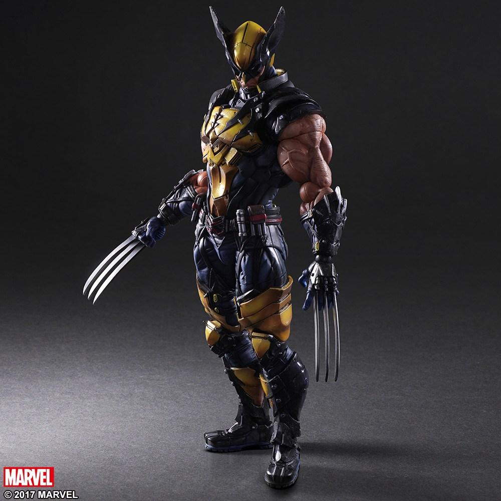 Square Enix: Play Arts Kai Marvel Universe Variant Wolverine Figure Official Details