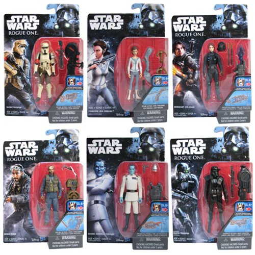 Hasbro Star Wars Rogue One Bodhi Rook & Star Wars Rebels Admiral Thrawn Wave In Stock On Entertainment Earth