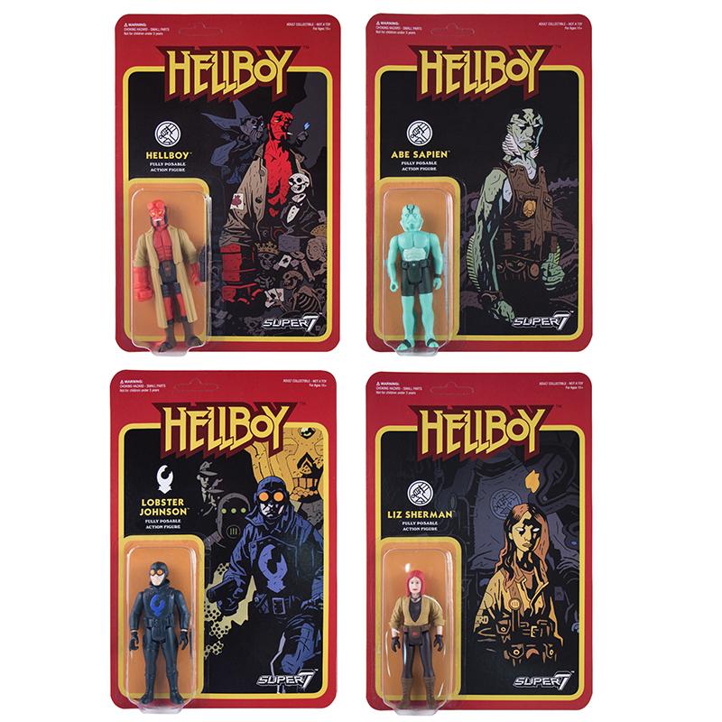 Super 7: Hellboy ReAction Figures Pre-Order