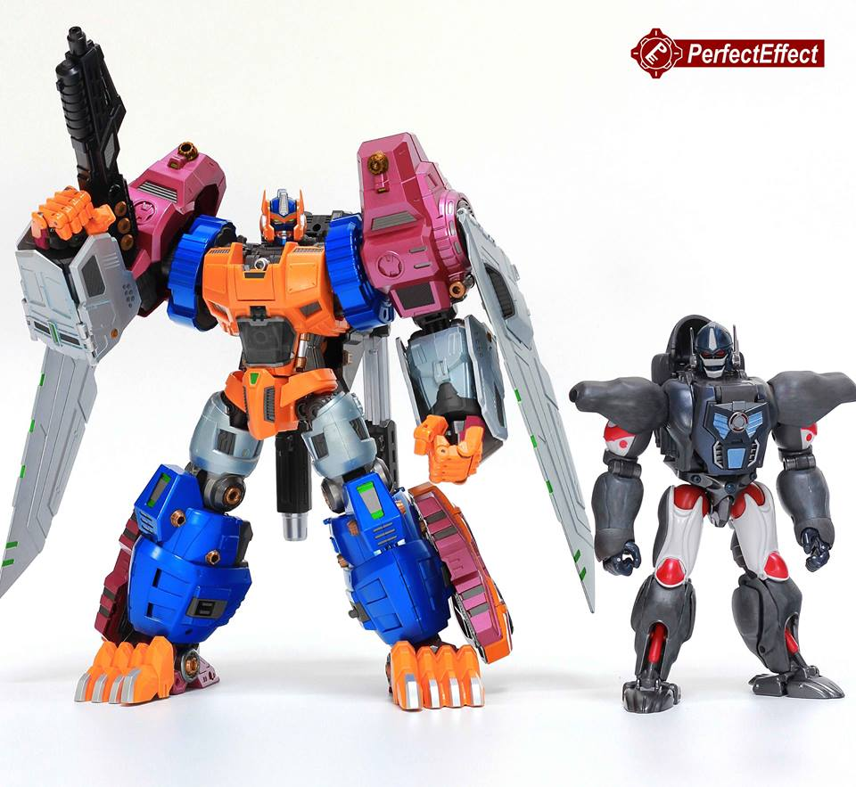 Transformers Beast Wars Optimus Primal – PE-DX06 Beast Gorira Figure By Perfect Effect