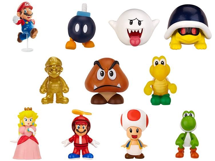 JAKKS Pacific World Of Nintendo Micro Figure Wave 2 Blind Box Figures
