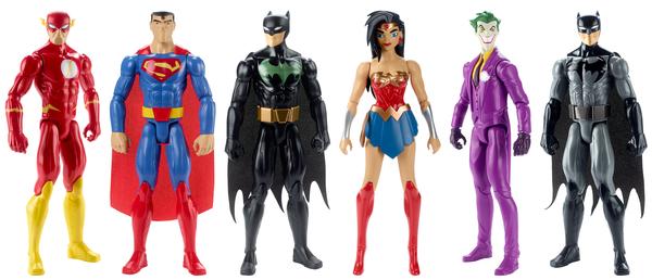 Mattel Wonder Woman & Justice League Movie Figures Official Press Release