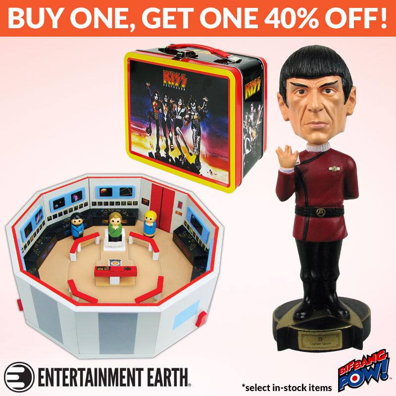 Entertainment Earth & Bif Bang Pow! New York Toy Fair BOGO Sale