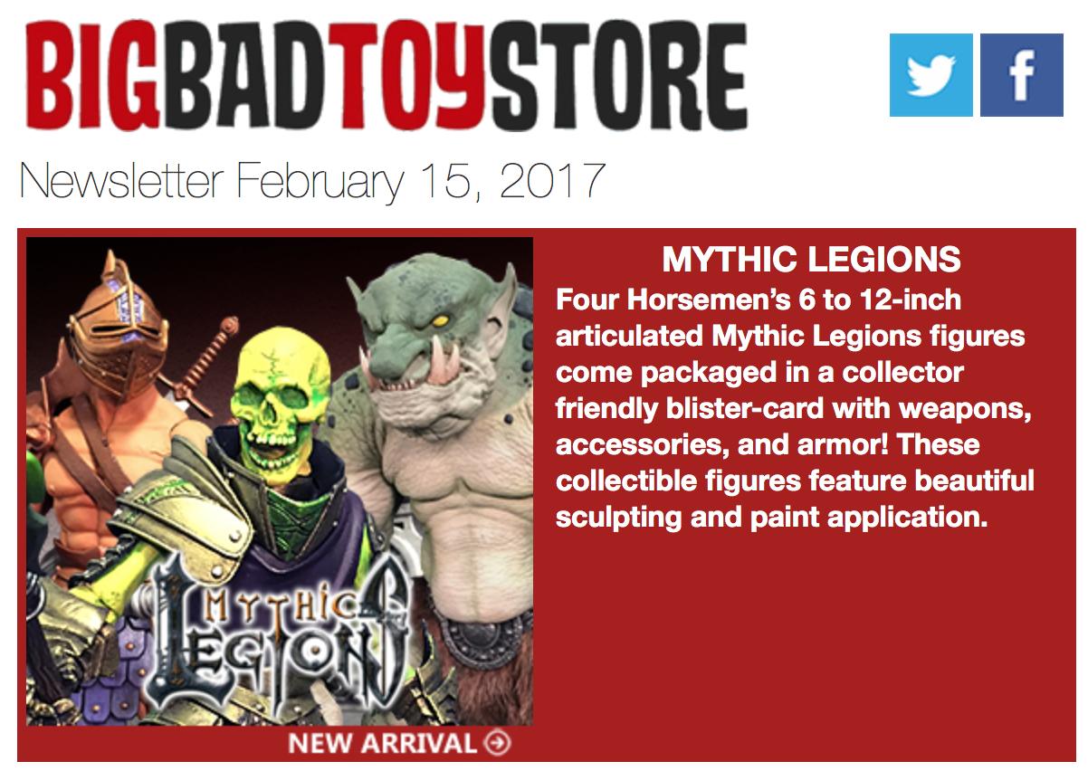 BigBadToyStore: Mythic Legions, Predator, Harley Quinn, MMPR, Rick & Morty, Transformers & More