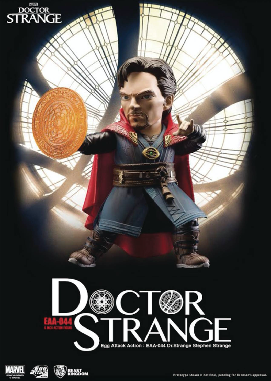 Diamond Brings The Master Of The Mystic Arts To Comic Shops With A PREVIEWS Exclusive Egg Attack Action Figure