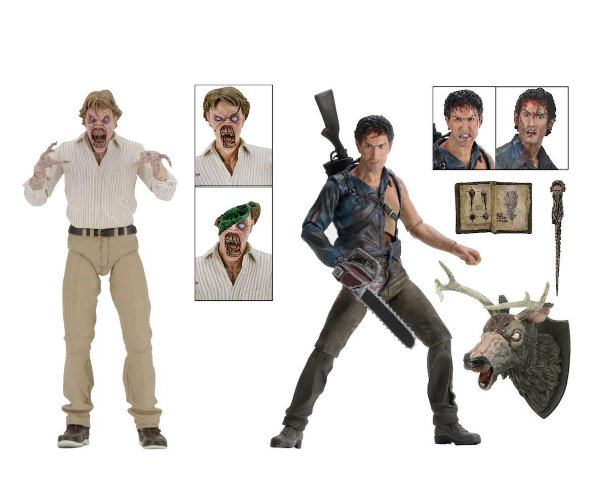 NECA Toys Shipping This Week – Evil Dead 2, Godzilla & Freddy Krueger's Glove