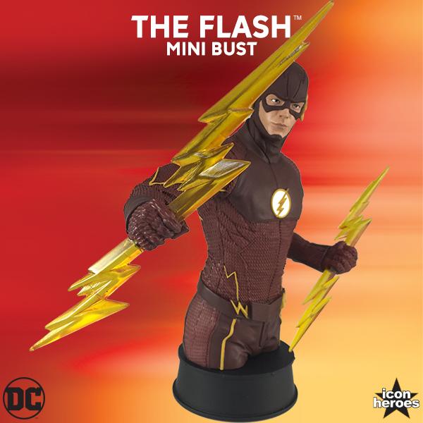 Icon Heroes DC Comics Flash TV Mini Bust