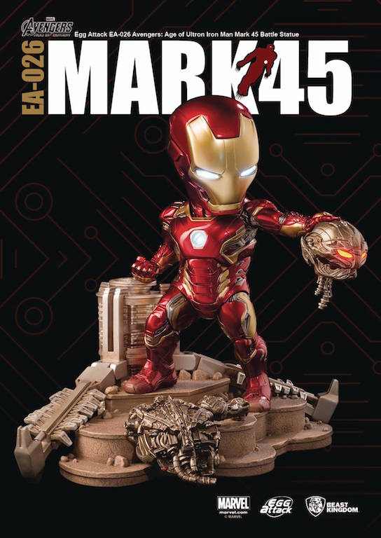 Diamond Calls In Iron Man To Save Comic Shops From Ultron With New PREVIEWS Exclusive Figures