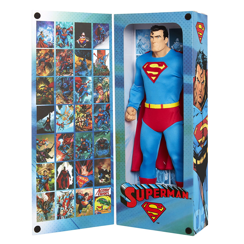 JAKKS Pacific Big Figs Tribute Series DC Originals 19″ Superman Exclusive Figure In Stock On Amazon