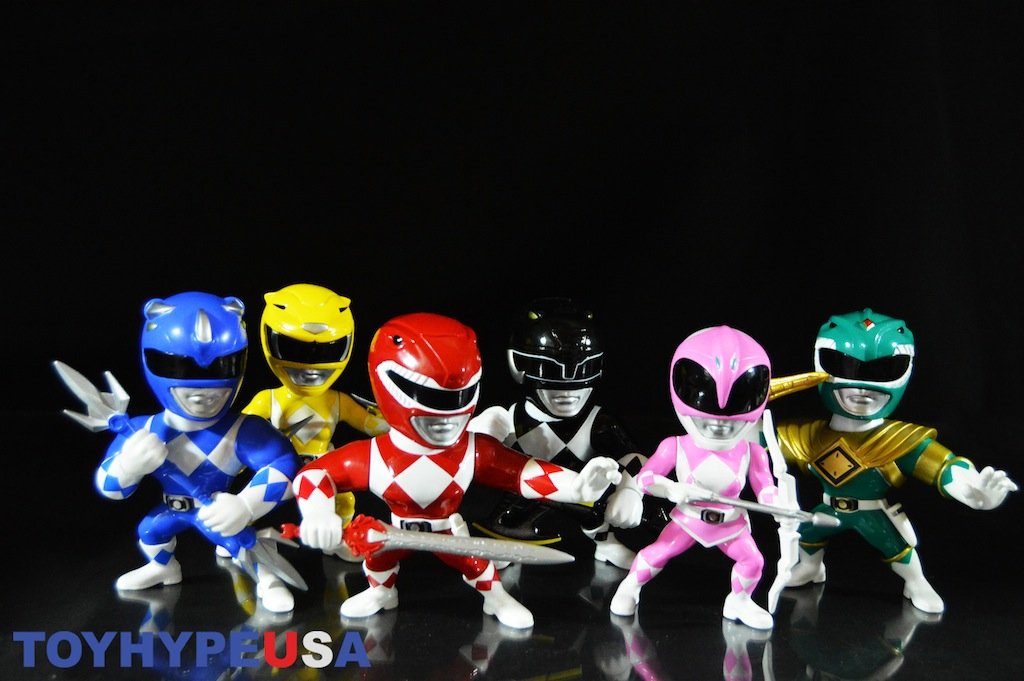 Jada Toys: Mighty Morphin Power Rangers Metals Die Cast Figures Review