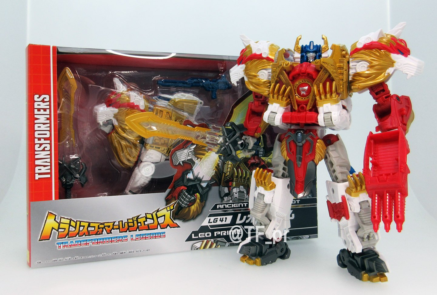 Takara-Tomy Transformers Legends LG-41 Lio Convoy – New Official Images
