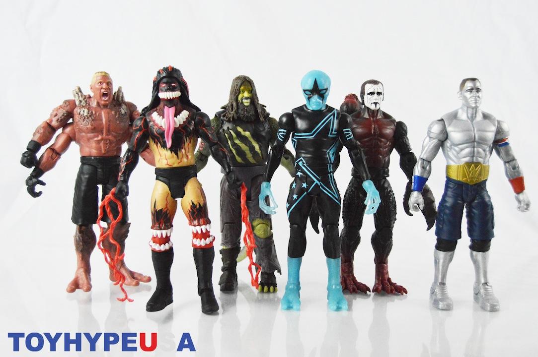 Mattel: WWE Mutants Superstars 6″ Figures Review