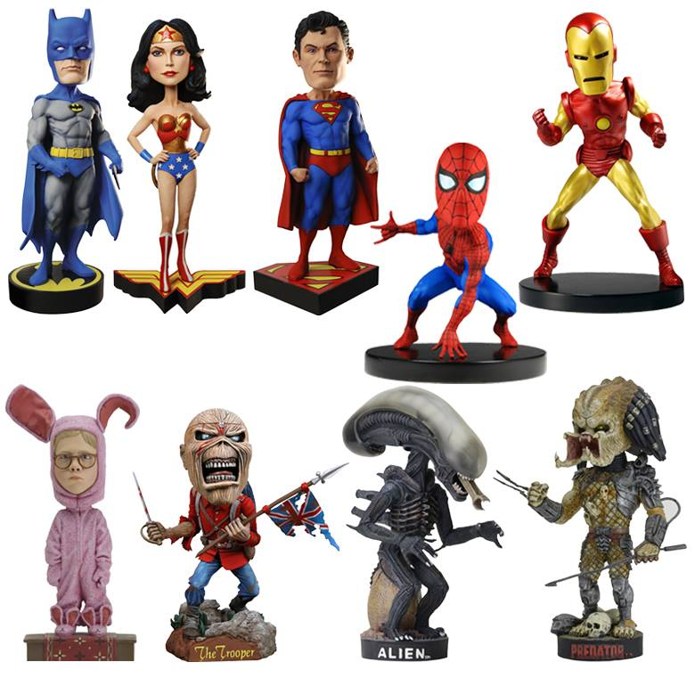 NECA Toys New Marvel, DC & More Head Knockers On Official Amazon & eBay Storefront