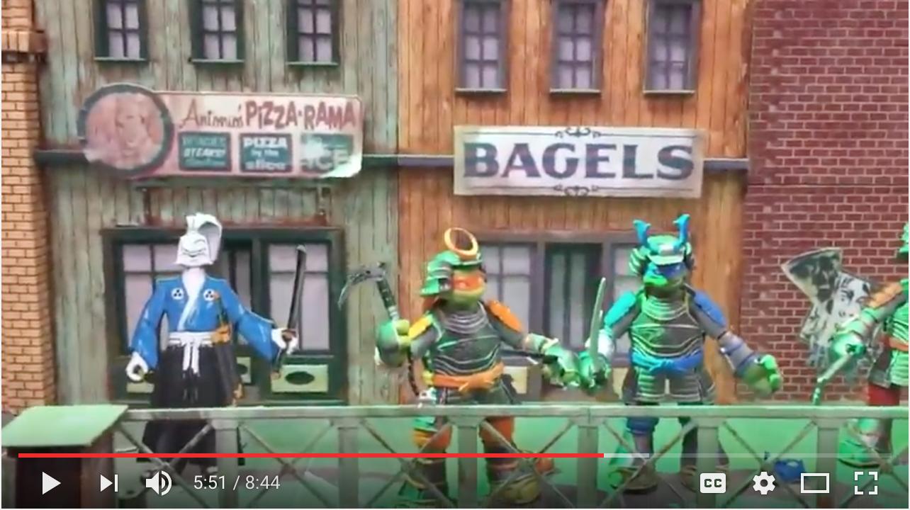 NYTF 2017 – Playmates Toys Teenage Mutant Ninja Turtles Video Interview With Pat Linden