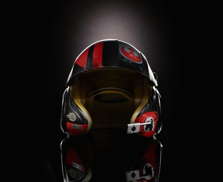 Hasbro Star Wars The Black Series Poe Dameron Electronic Helmet To Debut At New York ToyFair