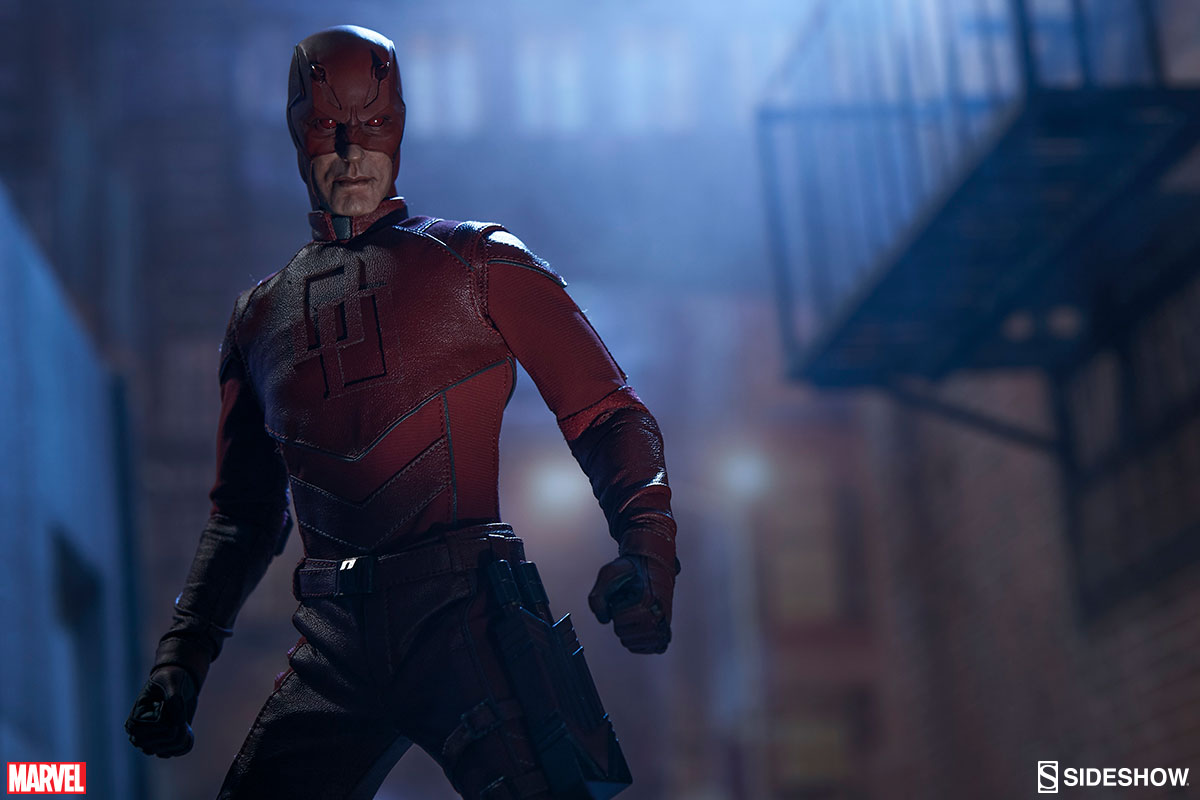 Sideshow Daredevil Sixth Scale Figure Official Details & Images