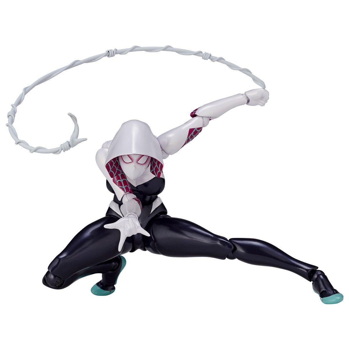 Revoltech Spider-Gwen Figure Official Details & Images