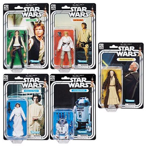 Hasbro Star Wars The Black Series 40th Anniversary Figures On HasbroToyStop
