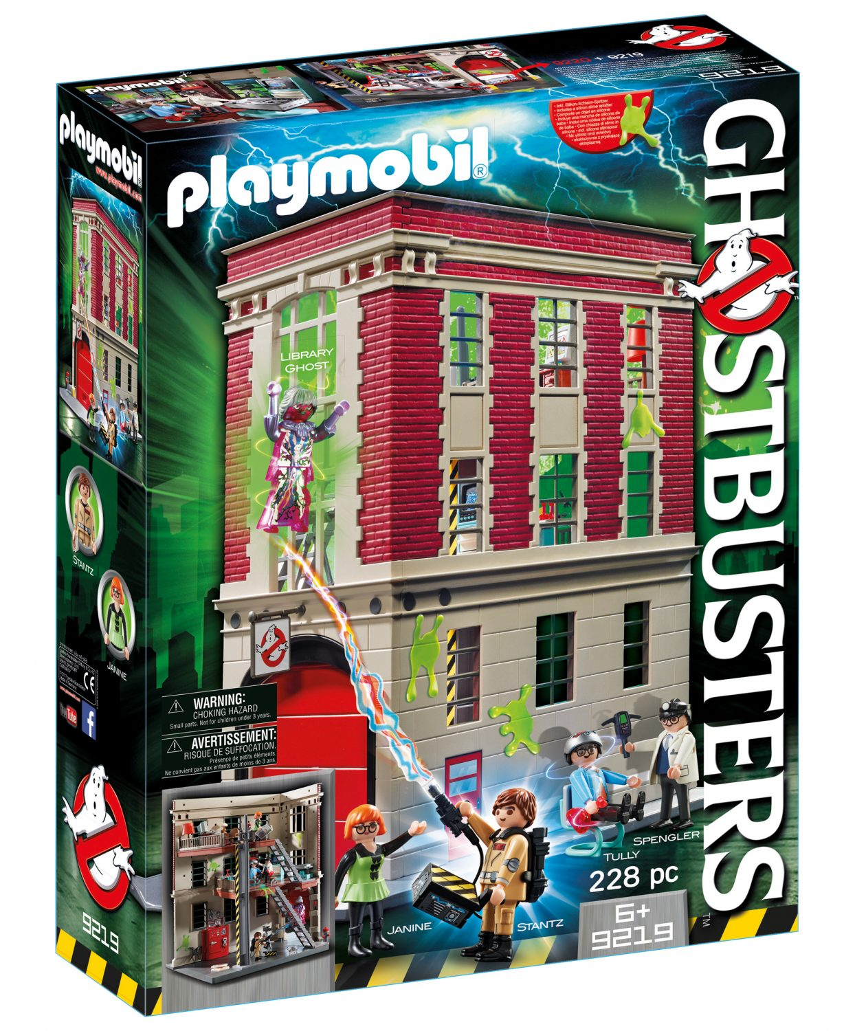 Playmobil Ghostbusters Firehouse Playset Now $42.99 On Amazon