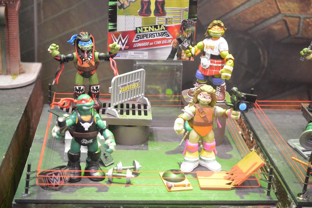 NYTF 2017 – Playmates Toys Teenage Mutant Ninja Turtles, Voltron & More Booth Coverage