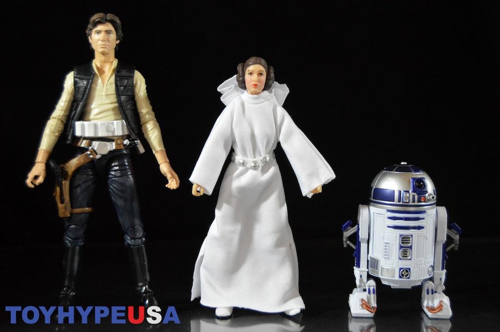 Hasbro Star Wars 40th Anniversary 6″ Han Solo, Princess Leia & R2-D2 Figures Review