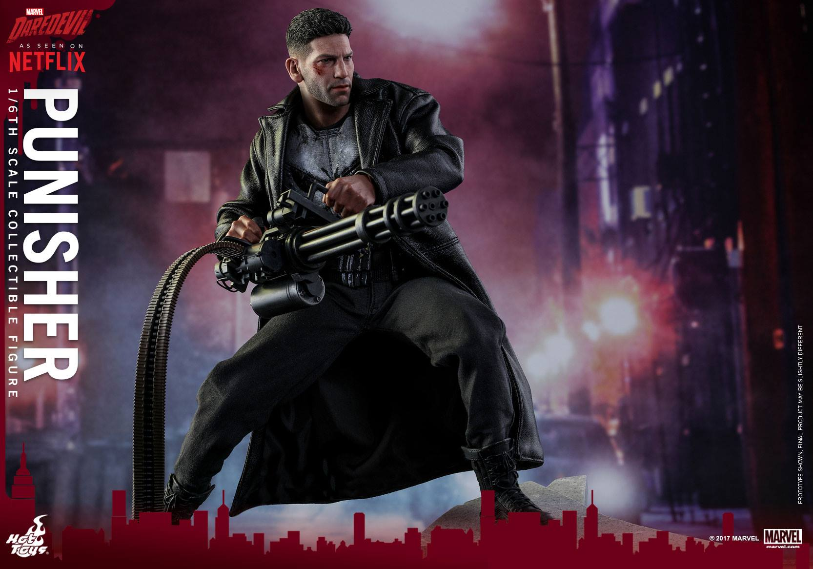 Hot Toys The Punisher Sixth Scale Figure Official Details & Images