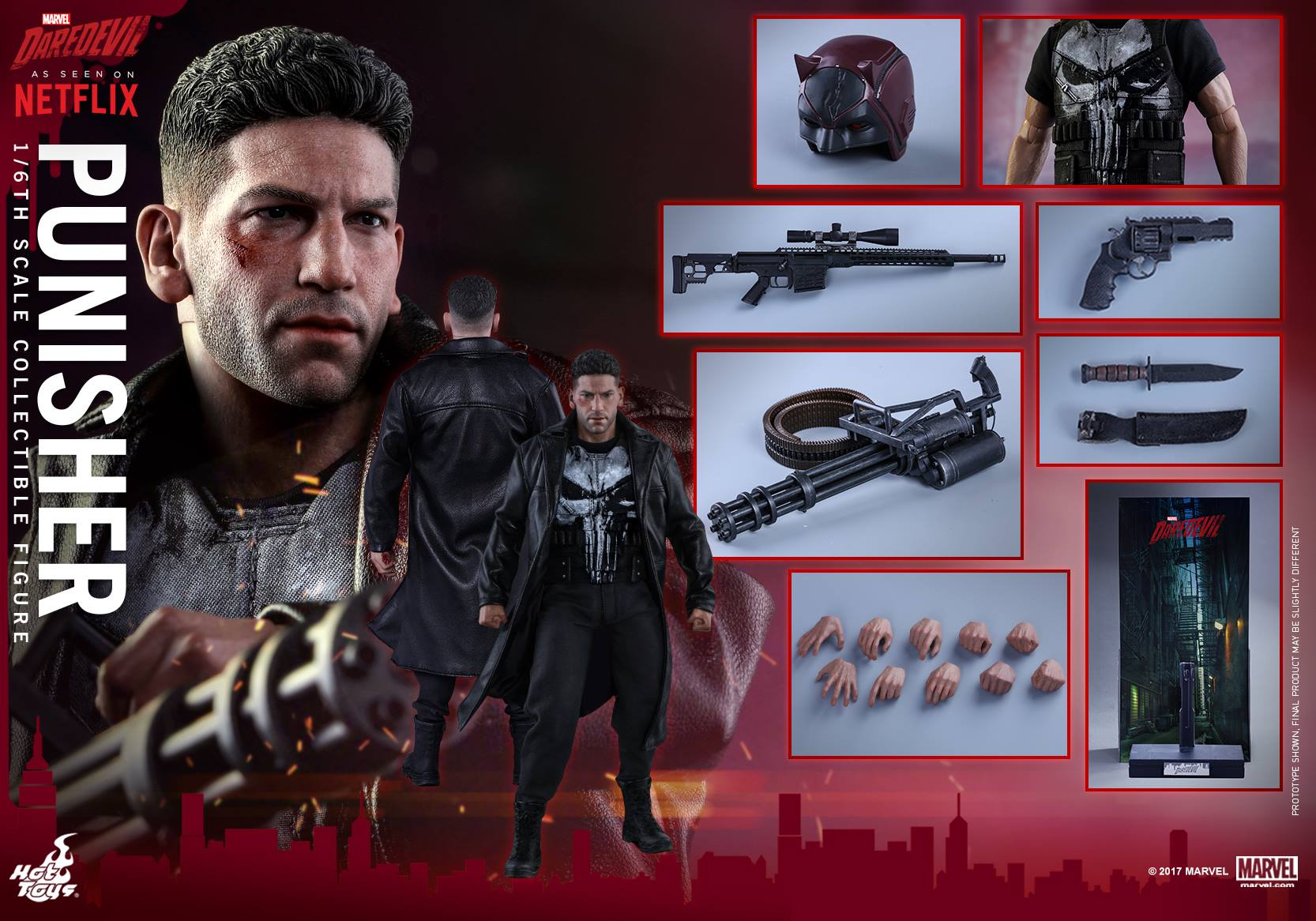 Hot Toys The Punisher Sixth Scale Figure Pre-Orders