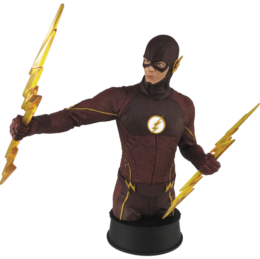 Diamond Calls In the Scarlet Speedster With A New PREVIEWS Exclusive Flash Bust