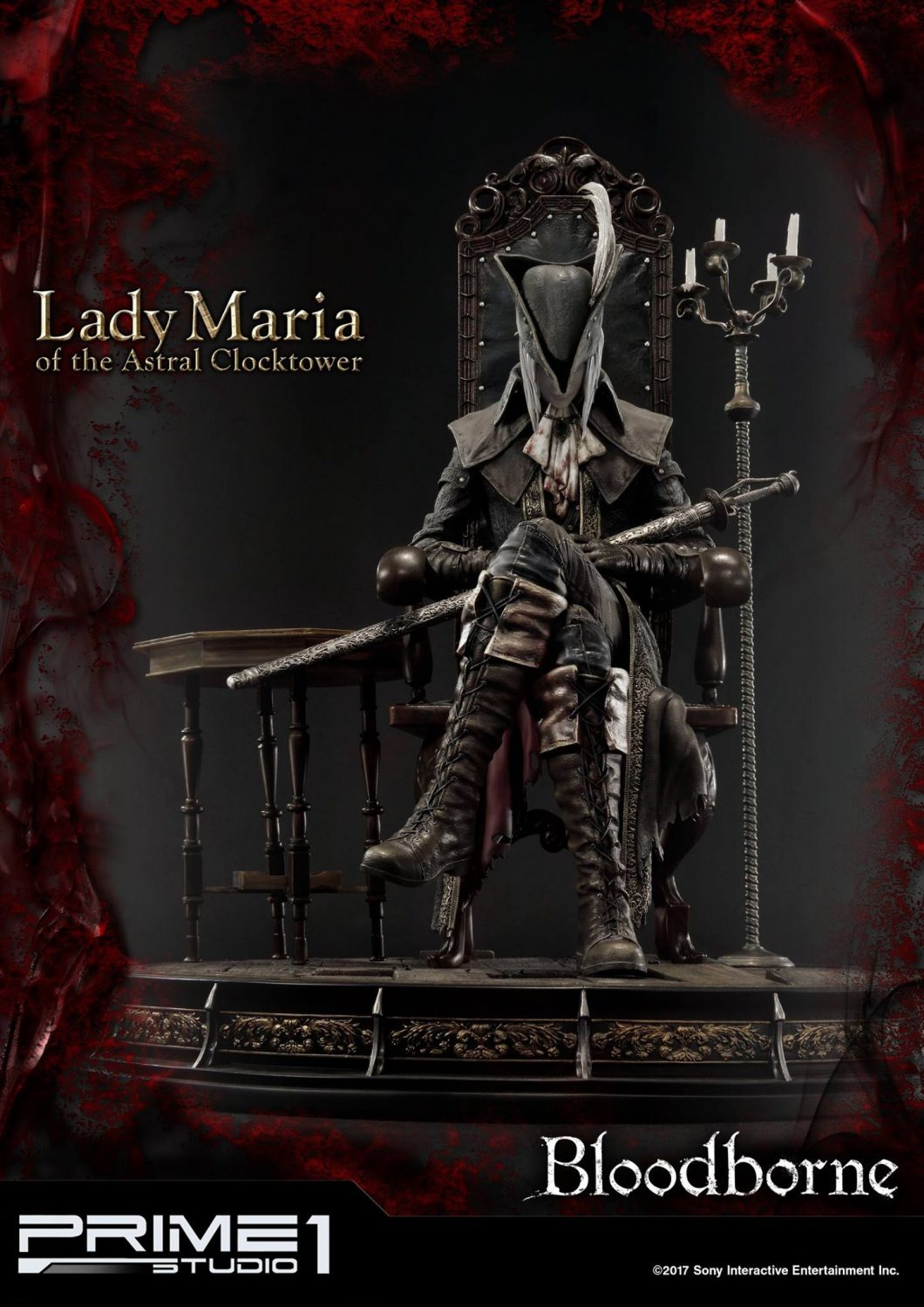 Prime 1 Studio Bloodborne – Lady Maria Of The Astral Clocktower Statue
