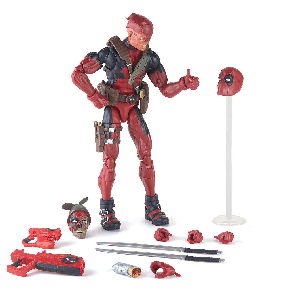 Hasbro Marvel Legends 12″ Deadpool Figure In-Stock On Amazon (Update)