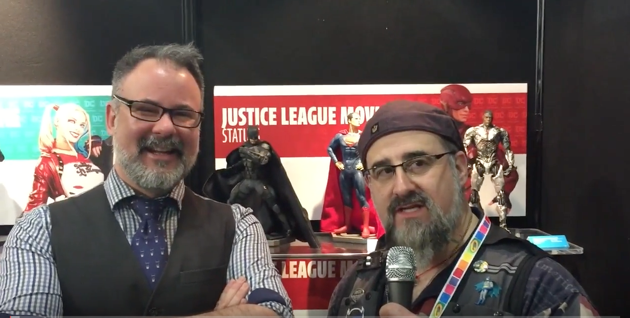 NYTF 2017 – DC Collectibles Video Walkthrough With Kevin Kiniry