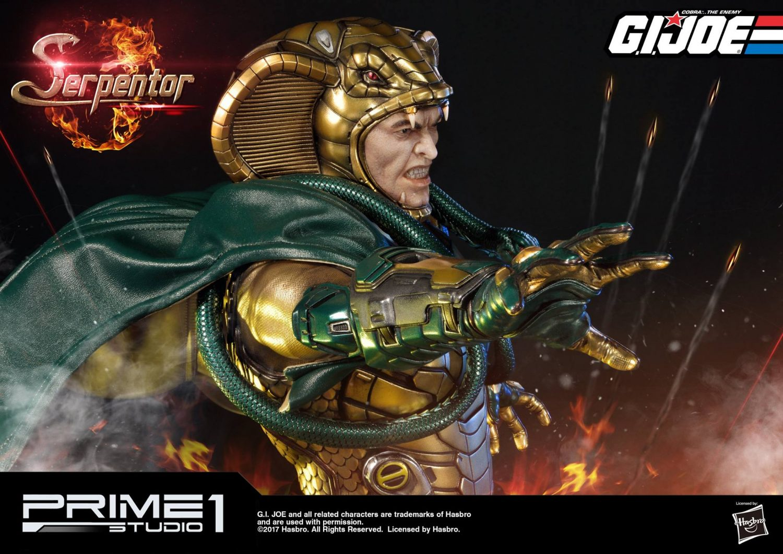 Prime 1 Studio G.I. Joe Serpentor Statue Pre-Orders