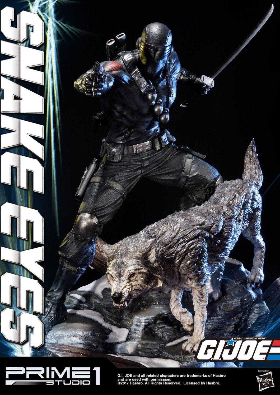 Prime 1 Studio G.I. Joe Snake Eyes & Timber Statue Updated Version