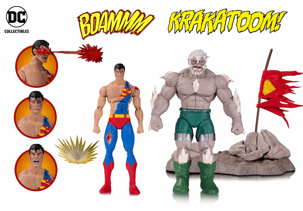 DC Collectibles Shipping This Week – DC Icons The Death Of Superman Figure 2-Pack