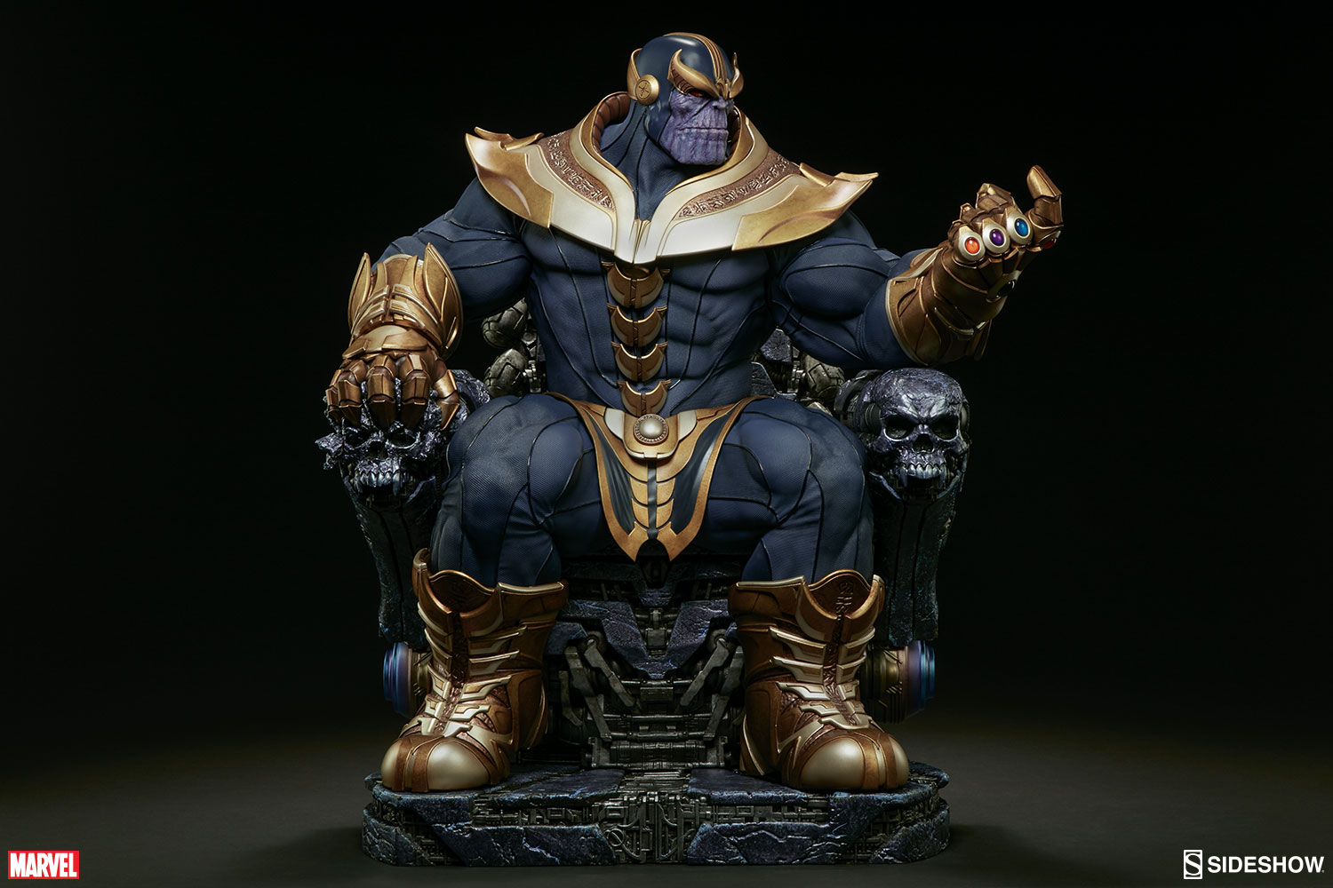 Sideshow Collectibles Thanos On Throne Maquette Pre-Orders