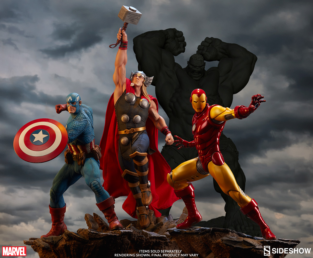 Sideshow Collectibles Avengers Thor Statue Official Details & Images