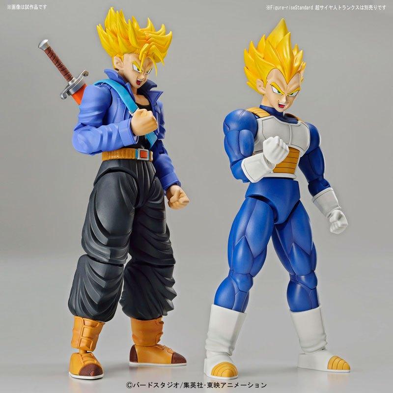 Bandai Dragon Ball Z Figure-rise Super Saiyan Vegeta, Trunks & Time Capsule Pre-Orders