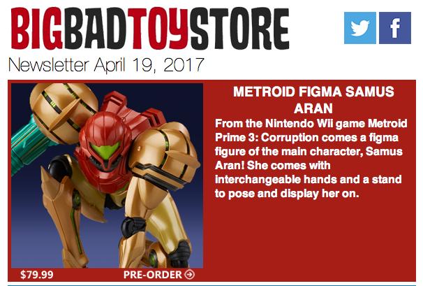 BigBadToyStore: Metroid, Diamond, Marvel, DC, Playmobil, Ultra Magnus, Funko & More