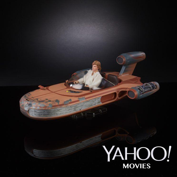 Hasbro Star Wars The Black Series 6″ Luke Skywalker With Landspeeder Set Revealed